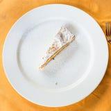 Top view of local sicilian sweet lemon cake Stock Photo