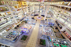 Top view of Louvre furniture trade center Stock Photography