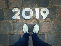 2019 pavement stone royalty free stock images