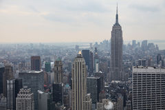 Top view of Manhattan, USA Stock Images