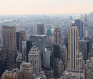 Top view of Manhattan, USA Stock Photography