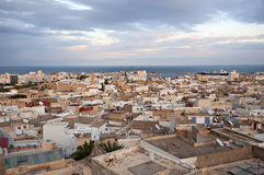 The top view of the Medina of Sousse Stock Image