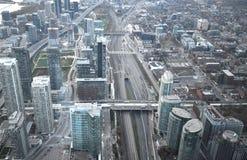 Top view of the metro Stock Photos