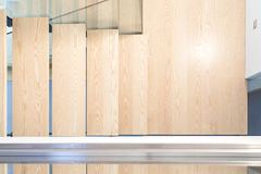 Top view of a modern staircase Royalty Free Stock Image