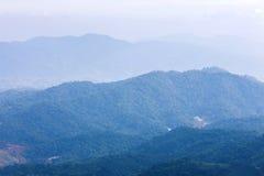 Top view mountain Stock Photo