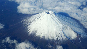 Top view of Mt. Fuji . royalty free stock photography