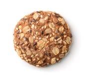 Top view of multigrain cookie Royalty Free Stock Photo