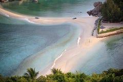 Top view of nang yaun island beach beautiful sea destination to Royalty Free Stock Image