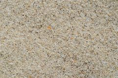 Top view of natural sand texture, background. royalty free stock photography