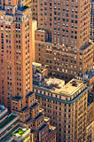 Top view of New York architecture Stock Photography