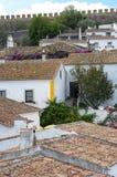 Top view of Obidos Stock Photos