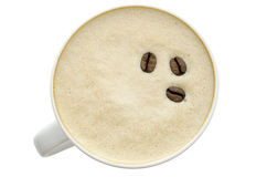 Top View Of A Coffee Stock Images