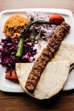 Top View Of A Delicious Adana Kebab