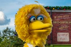 Free Top View Of Big Bird In Sesame Steet Party Parade At Seaworld Royalty Free Stock Photo - 165169635
