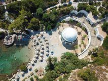 Free Top View Of Kallithea Springs And Thermes In Rhodos, Greece Royalty Free Stock Image - 161770246