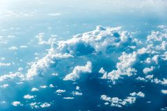 Free Top View Of White Clouds Above The Ground Or Water Royalty Free Stock Photo - 145428955