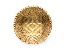 Free Top View Of Wicker Basket Isolated On White Stock Photos - 73181633