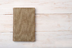 Top view of old book Stock Photography