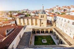 Coimbra city in Portugal Stock Photos