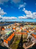 Top view of the old city of Riga Royalty Free Stock Image