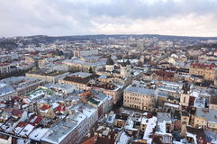 Top view of the old city Royalty Free Stock Photos