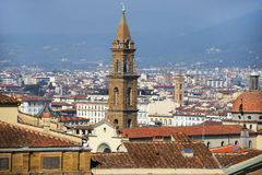 Top view of the old Florence Stock Photography