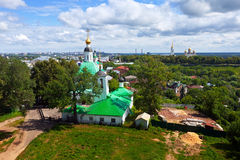 Top view of old Vladimir Royalty Free Stock Photography