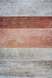 Top view of old wood in line Royalty Free Stock Images