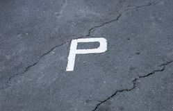 Parking Area royalty free stock photography
