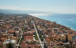 Top view of Palermo, Italy Royalty Free Stock Images