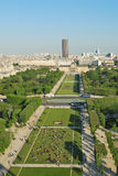 Top-view of Paris Royalty Free Stock Images