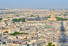Top-view of Paris Stock Image