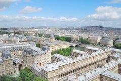 Top-view of Paris Stock Photo