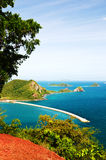 Top view of Peaceful island in Thailand Stock Photo