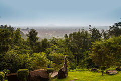Top view Phliu waterfall Stock Photography