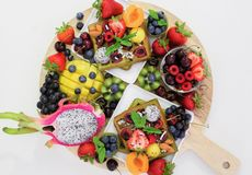 Top View Photo of Assorted Fruits Royalty Free Stock Photography