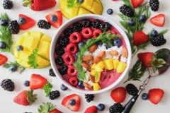 Top View Photo of Food Dessert stock photo
