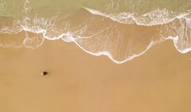 Top View Photo of Seashore royalty free stock images