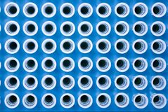 top view of pipette tips Royalty Free Stock Image