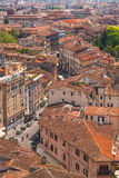 Top view of Pisa Royalty Free Stock Images