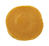 Top view plain pancakes Stock Photos