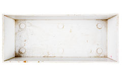 Top view of plastic box Royalty Free Stock Photos