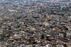 Top view of Pointe-Noire Congo Stock Photo