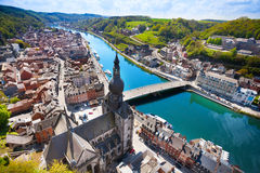 The top view of Pont Charles de Gaulle bridge Royalty Free Stock Photography