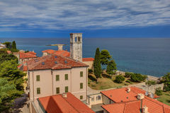 Top view of Porec. In Istria. Croatia Royalty Free Stock Image