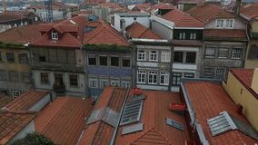 Top view of Porto old town, Portugal. Architecture. stock video