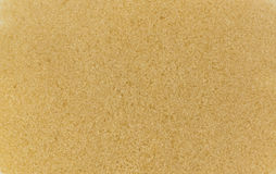 Top view of  raw brown cane sugar Stock Images