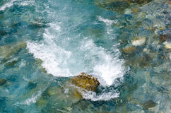 Top view of  river Royalty Free Stock Image