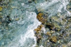 Top view of  river Royalty Free Stock Photos