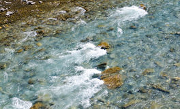 Top view of  river Stock Photo